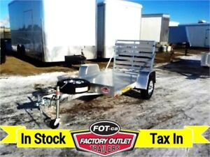New 2020 - 548 Aluma Premium Utility Trailer >>---> Tax In Price
