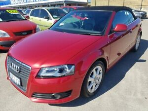 2009 Audi A3 8P 2.0 TFSI Ambition Red 6 Speed Direct Shift Cabriolet Wangara Wanneroo Area Preview