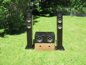 NHT a-500 speakers with sub.