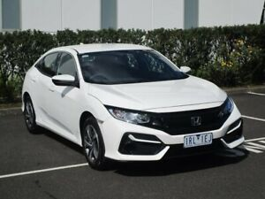 2020 Honda Civic 10th Gen MY20 VTi White 1 Speed Constant Variable Hatchback Narre Warren Casey Area Preview