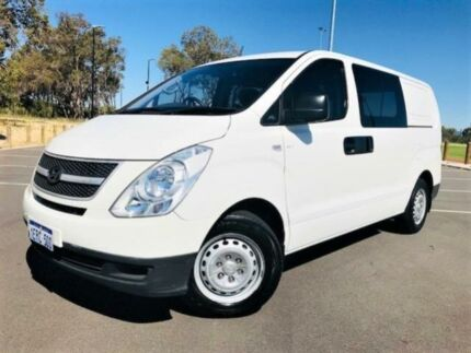 2010 Hyundai iLOAD TQ White 5 Speed Automatic Van
