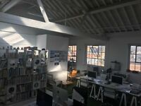 1-8 desk spaces available for rent in Shoreditch design studio