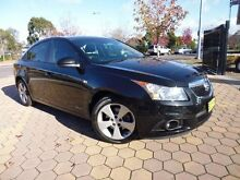 2013 Holden Cruze JH MY13 CD Equipe Black 6 Speed Automatic Sedan Phillip Woden Valley Preview
