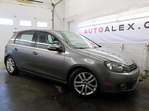 2010 Volkswagen Golf 2.5L Highline CUIR TOIT OUVRANT MAGS 91000K