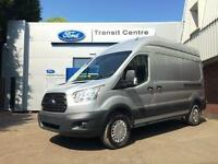 NEW Ford Transit 2.2TDCi 125PS Trend 350 L3H3 in White + A/C - Onsite