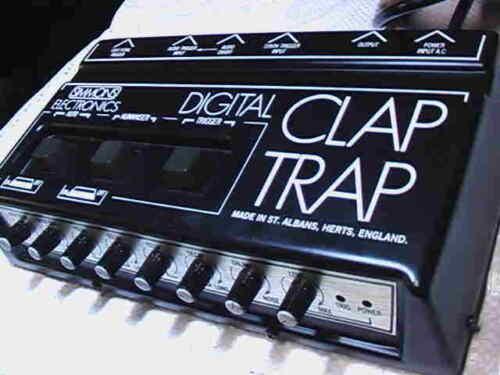 Simmons Clap Trap machine..Ultra Rare!