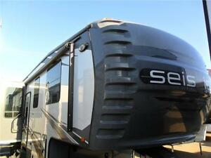 NEW 2014 43 FT JAYCO SEISMIC 3902 TOY HAULER 5TH WHEEL