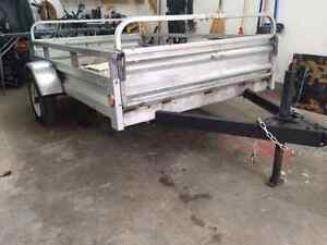 Trailer comme neuf 5.5 x 7.5