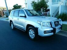 2008 Toyota Landcruiser VDJ200R VX Silver 6 Speed Sports Automatic Wagon Redcliffe Redcliffe Area Preview