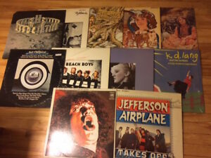 LPs, classic rock, folk rock, country rock & such
