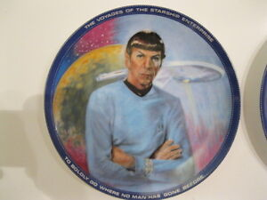 STAR TREK COLLECTIBLES NIMOY PLATE