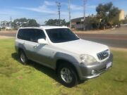 2002 Hyundai Terracan Highlander White 4 Speed Automatic Wagon Wangara Wanneroo Area Preview