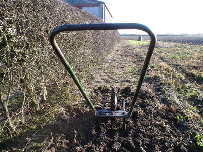 Genuine Original Jalo Single Wheel Push Hoe C/w Duckfoot Cultivator Tines