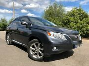 2010 Lexus RX350 GGL15R Sports Grey 6 Speed Automatic Wagon Hoppers Crossing Wyndham Area Preview