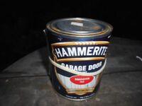Hammerite smooth red garage doorpaint 750ml