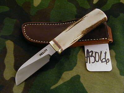 "RANDALL KNIFE KNIVES NON-CATALOG CATTLEMAN 3 1/4"",TN,BRH,RWBS,STAG #A3066"