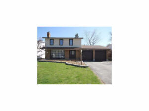 Perfect 4 BR Nepean home with great backyard; $2900/month