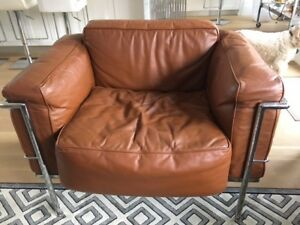 executive leather couch