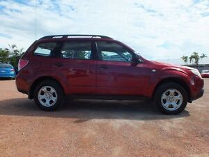 2009 Subaru Forester S3 MY10 X AWD Red 5 Speed Manual Wagon Rosslea Townsville City Preview