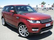 2014 Land Rover Range Rover Sport L494 MY15 SDV6 CommandShift HSE Red 8 Speed Sports Automatic Wagon Maddington Gosnells Area Preview
