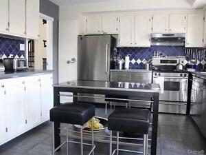 Super kit de cabinets de cuisines en bois massif à vendre