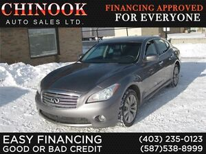 2011 Infiniti M37X AWD Nav,Leather,Sunroof,Rear Cam,Htd Steering