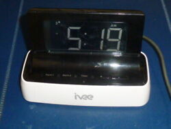 Ivee Digital Voice Controlled Talking Alarm Clock Model iv1 Interactive Voice