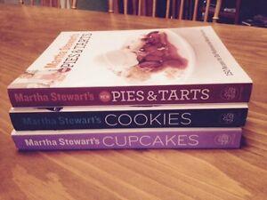 Martha Stewart Cookbooks Like New $7.00 each