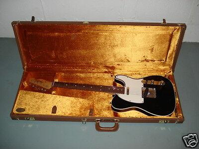 Fender Custom Shop 1960 Black Telecaster Custom Relic Electric Guitar + case