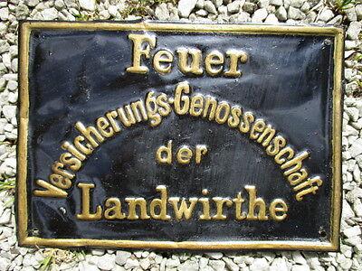 DRESDEN FEUER VERSICHERUNGS-GENOSSENSCHAFT der LANDWIRTHE  EV.NR.: 40 M um 1876