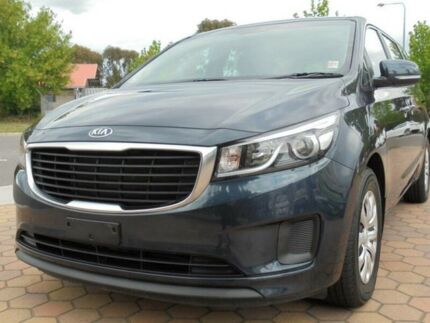 2015 Kia Carnival YP MY16 Update S Blue 6 Speed Automatic Wagon