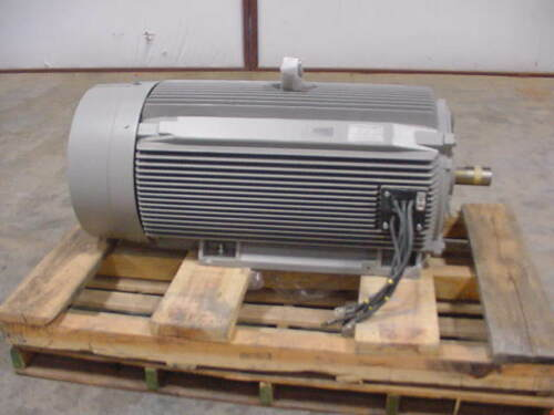 New Siemens 300 HP Electric Motor  Severe Duty 1185 RPM S449SS 1LE24214GC112AA3