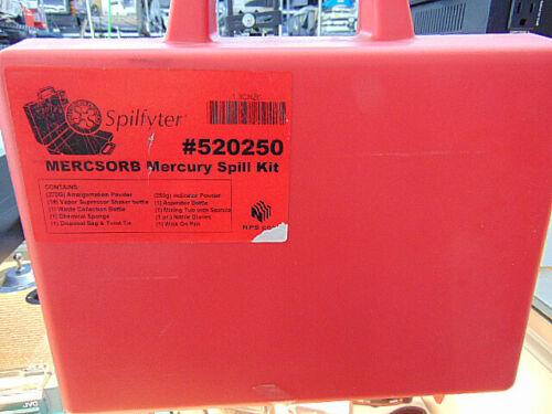 Spilfyter Mercsorb Mercury Spill Kit #520250. Brand New Free Shipping!