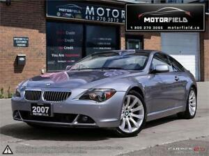 2007 BMW 6 Series 650i *ONE OWNER, ACCIDENT FREE, NAV, HUD*