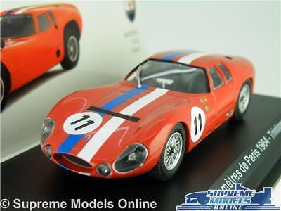 MASERATI TIPO 151/3 CAR MODEL 1:43 SIZE IXO 1000 KILOMETRES DE PARIS 1964 SIMONT