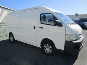 2005 Toyota HiAce TRH221R SLWB White 5 Speed Manual Van Currumbin Waters Gold Coast South Preview