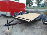 2016 Mirage 18' Car & Equipment Trailer w. Ramps and more