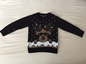 GENDER-NEUTRAL UGLY CHRISTMAS SWEATER (size 4T)