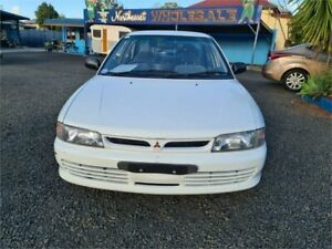 1992 Mitsubishi Lancer CB GL White 3 Speed Automatic South Lismore Lismore Area Preview