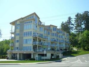 Semi-waterfront Condo in newer building