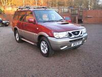 2001 51 Nissan Terrano II 2.7TDi auto SE+ Red Metallic