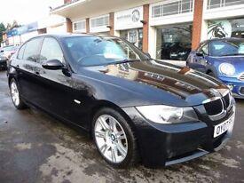 BMW 3 SERIES 2.0 318I M SPORT 4d 128 BHP (black) 2007