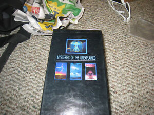 """Mysteries of the Unexplained"" Box set. (on VHS)"