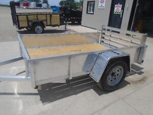 DISCOUNTED PRICE - QUALITY ALL ALUMINUM 5X8 UTILITY TRAILER London Ontario image 4