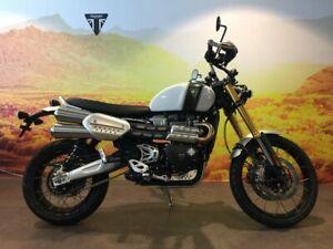2019 Triumph SCRAMBLER XE Road Bike 1200cc