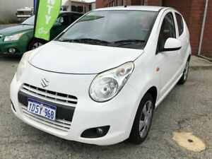 2011 Suzuki Alto GF GL White 5 Speed Manual Hatchback Beckenham Gosnells Area Preview
