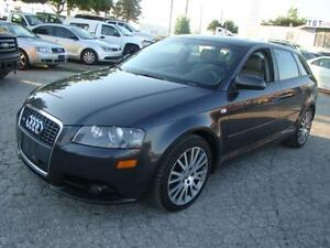 2007 AUDI A3 - 2.0 TURBO * LEATHER * DUBLE SUNROOF * CERTIFY