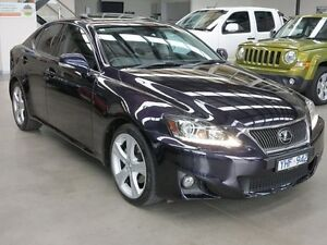 2010 Lexus IS250 GSE20R MY11 Sports Luxury 6 Speed Sports Automatic Sedan Keilor Park Brimbank Area Preview