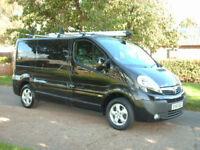 Vauxhall Vivaro 2.0CDTi 115 6 speed sportive met black NO VAT