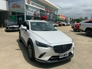 2018 Mazda CX-3 DK2W7A Akari SKYACTIV-Drive FWD LE White 6 Speed Sports Automatic Wagon Hoppers Crossing Wyndham Area Preview